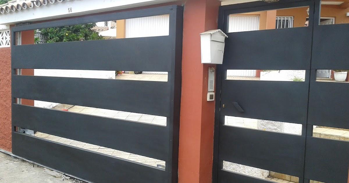 Acero inoxidable tenerife puertas corredera met licas - Instalacion puerta corredera ...