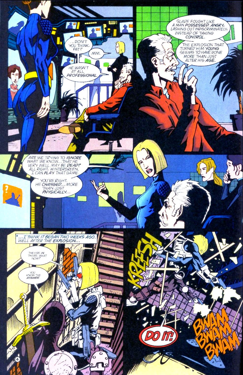 Deathstroke (1991) Issue #60 #65 - English 5