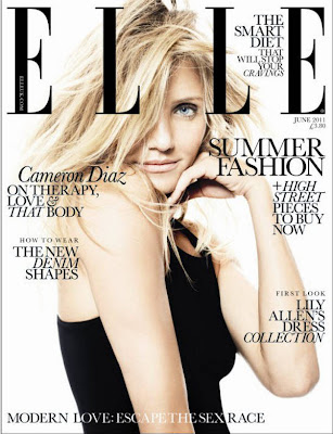 cameron diaz 2011 photoshoot. Cameron Diaz Elle UK Magazine