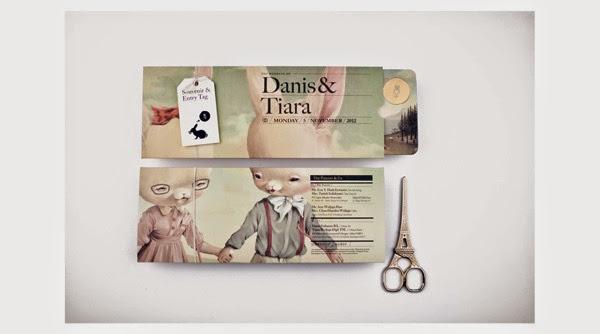 creativas tarjetas de matrimonio