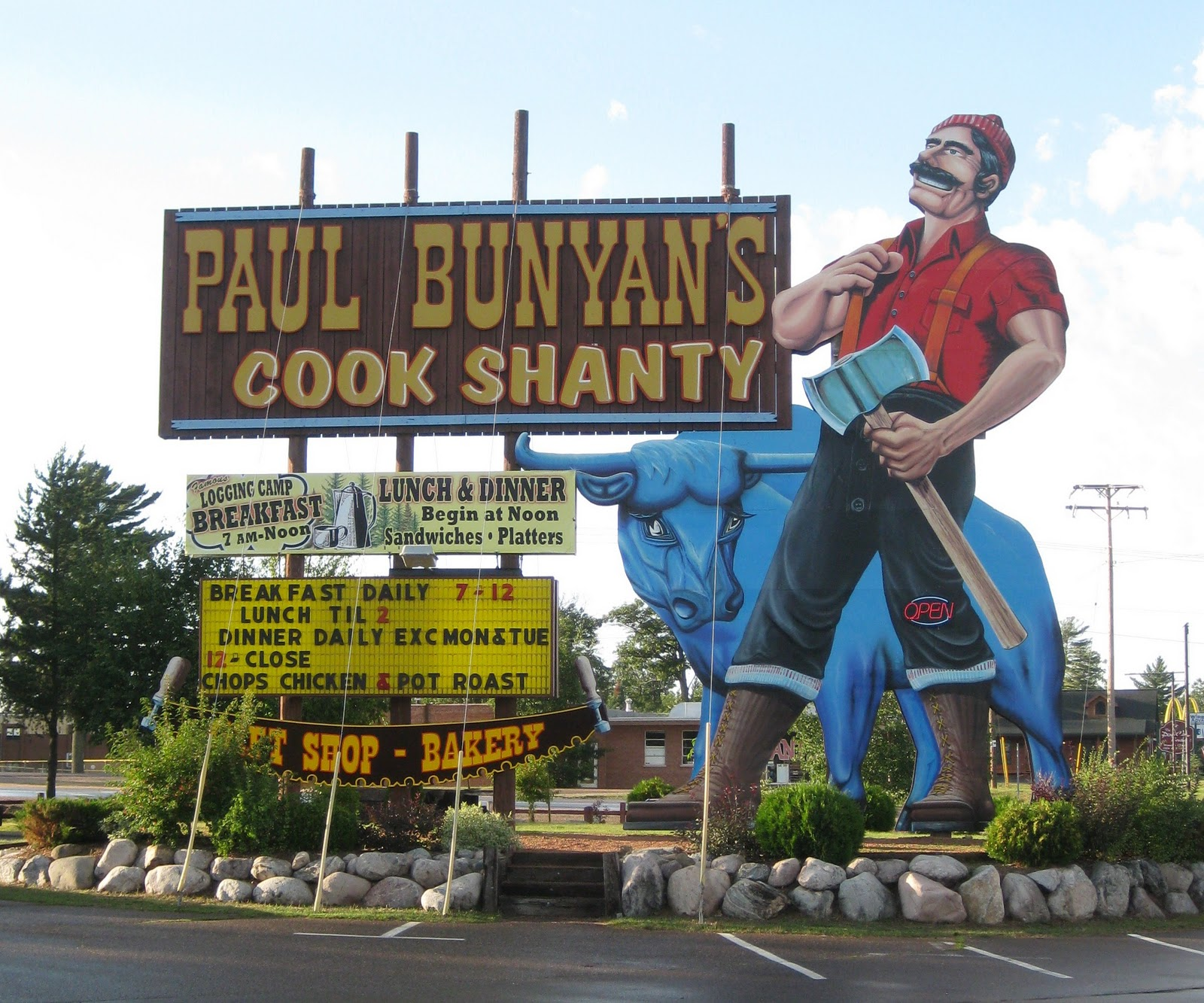Paul Bunyan S Dog