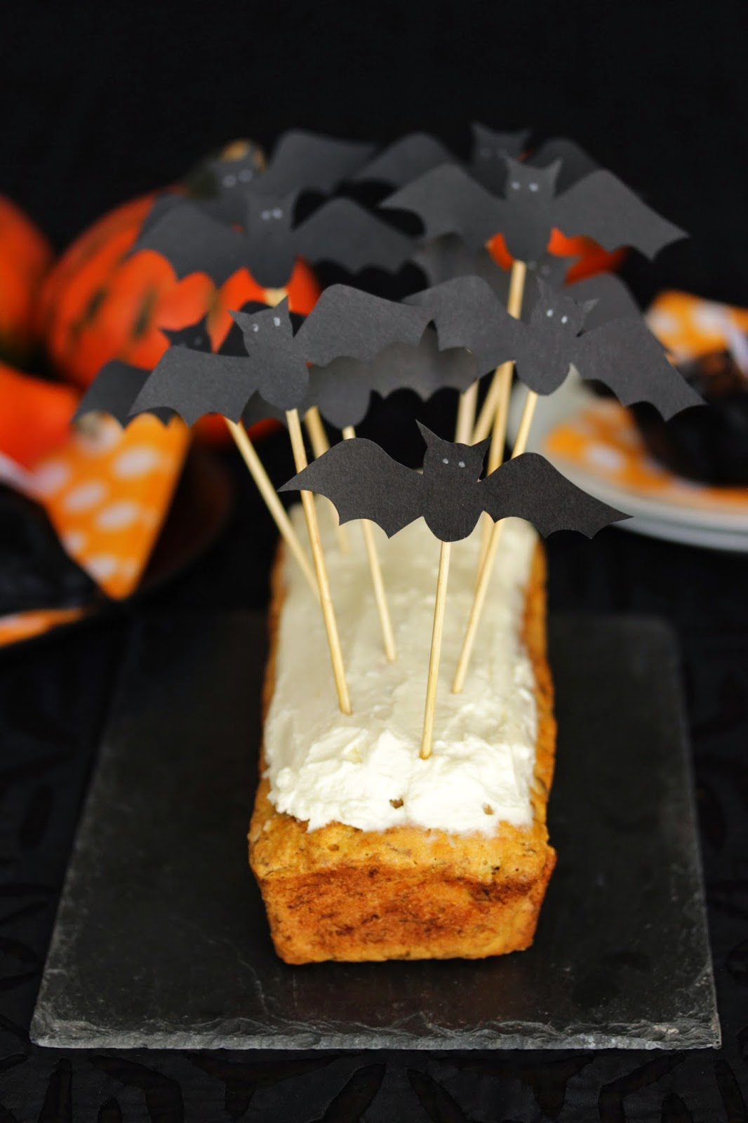 Carrot Cake Blancs En Neige