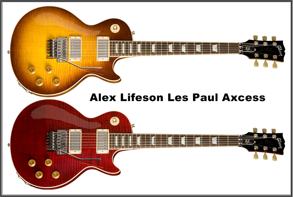 Guitars Blog Gibson Alex Lifeson Lespaul Axcess