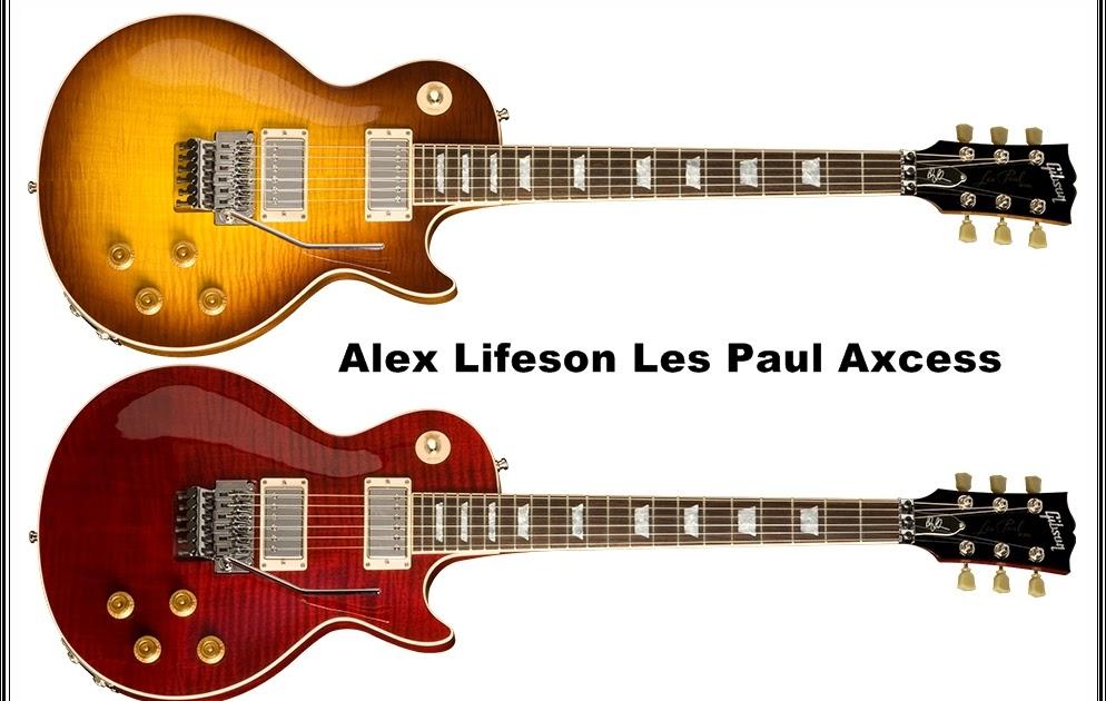 Guitars Blog  Gibson Alex Lifeson Lespaul Axcess