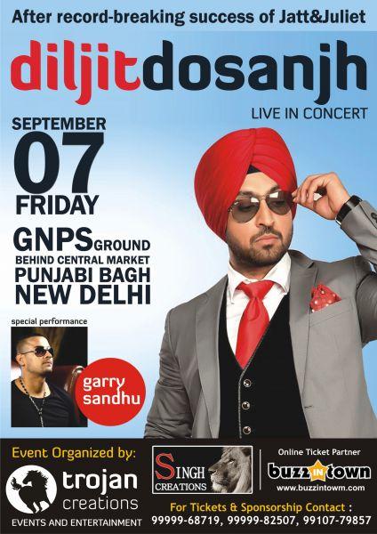 Diljit Dosanjh - Live in Concert - Sep 07, 2012