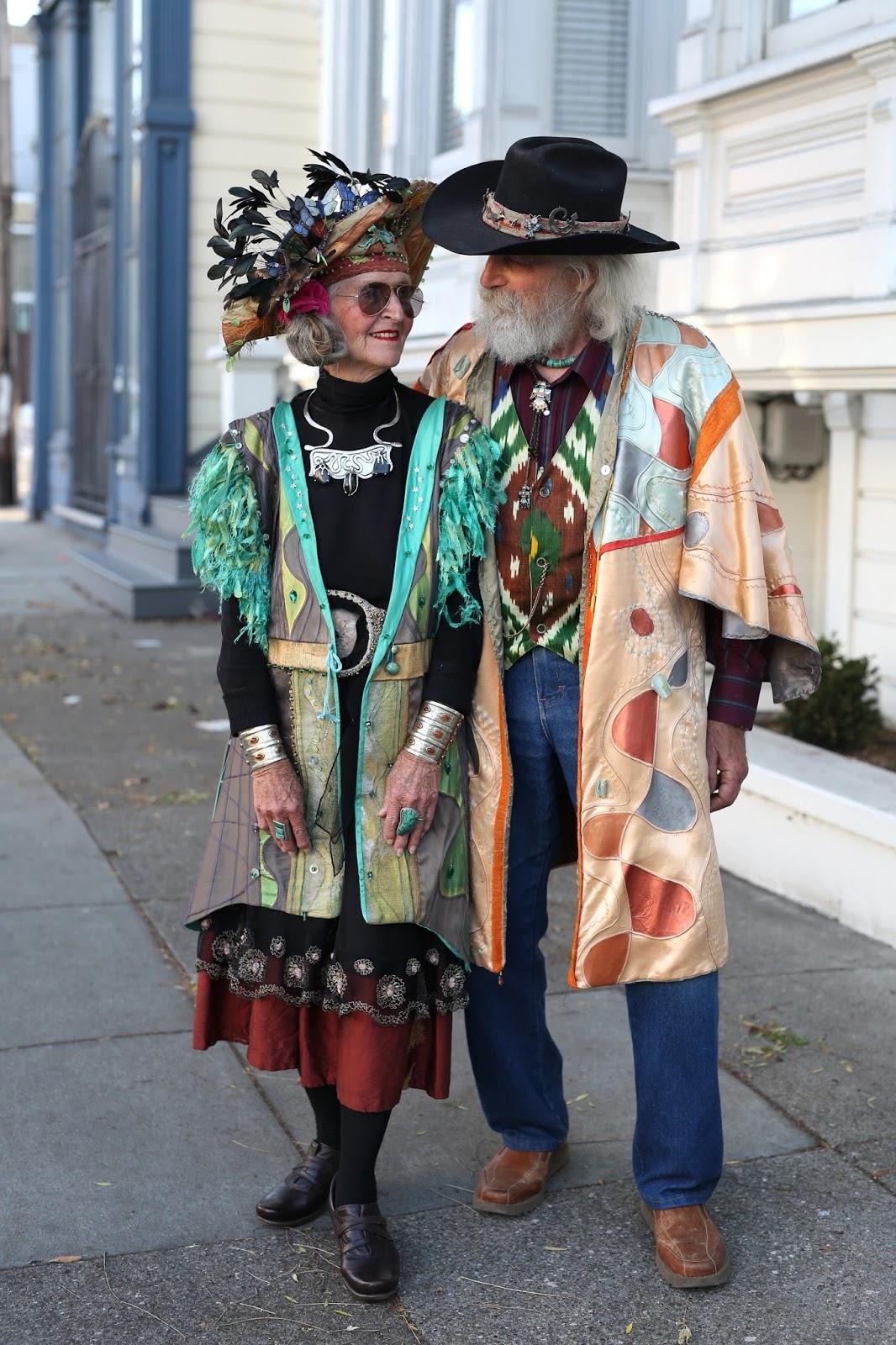 Streetstyle cực chất của những fashionista bô lão ảnh 19