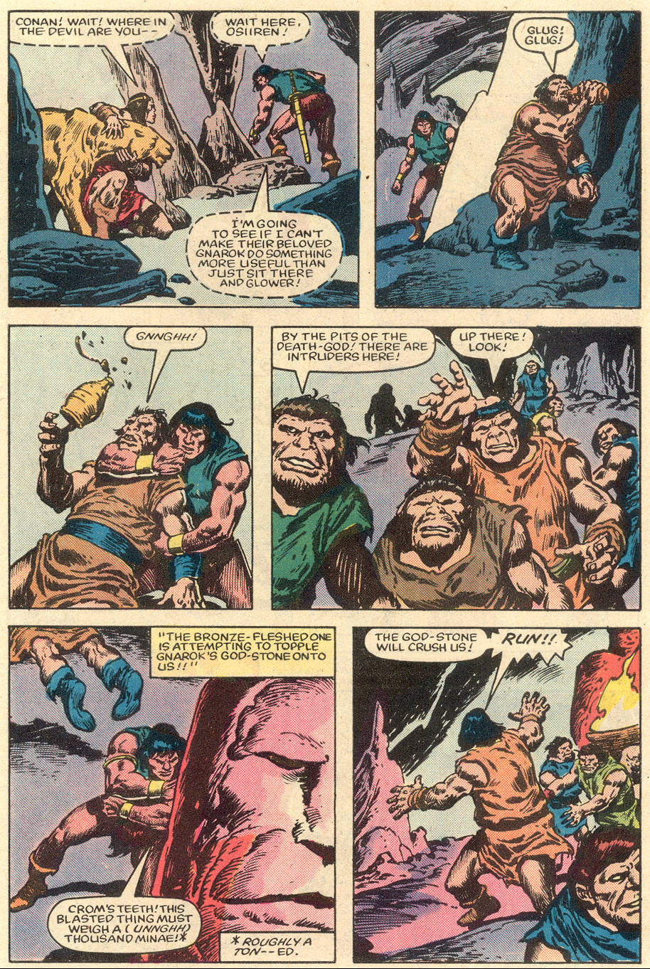 Conan the Barbarian (1970) Issue #151 #163 - English 20