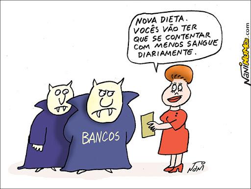 Dilma e os spreads dos bancos