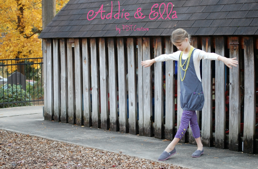 Addie and Ella by PDT Couture