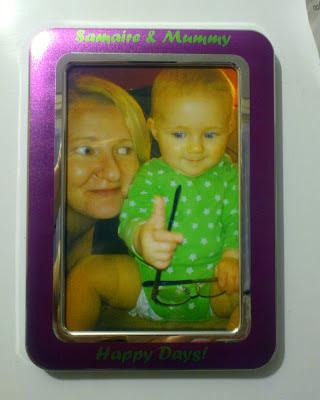 i-pic personalised photo frame