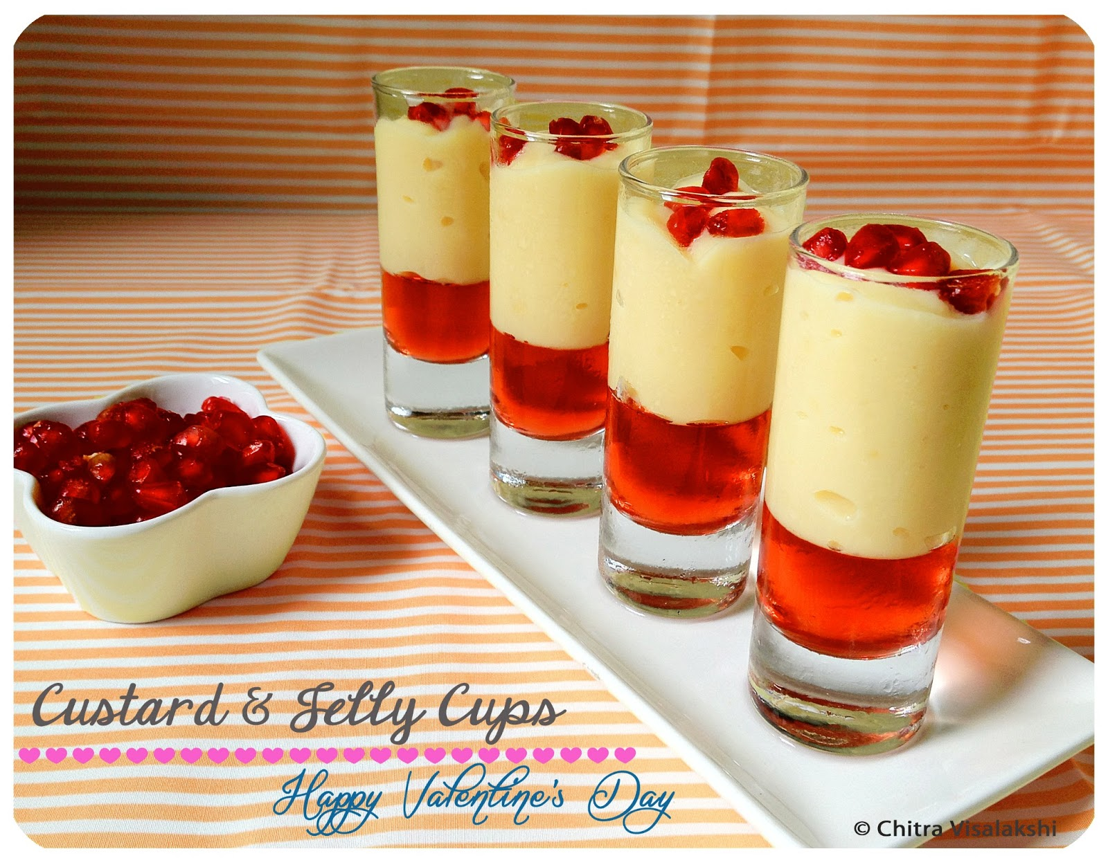 From My Kitchen Custard Amp Jelly Cups