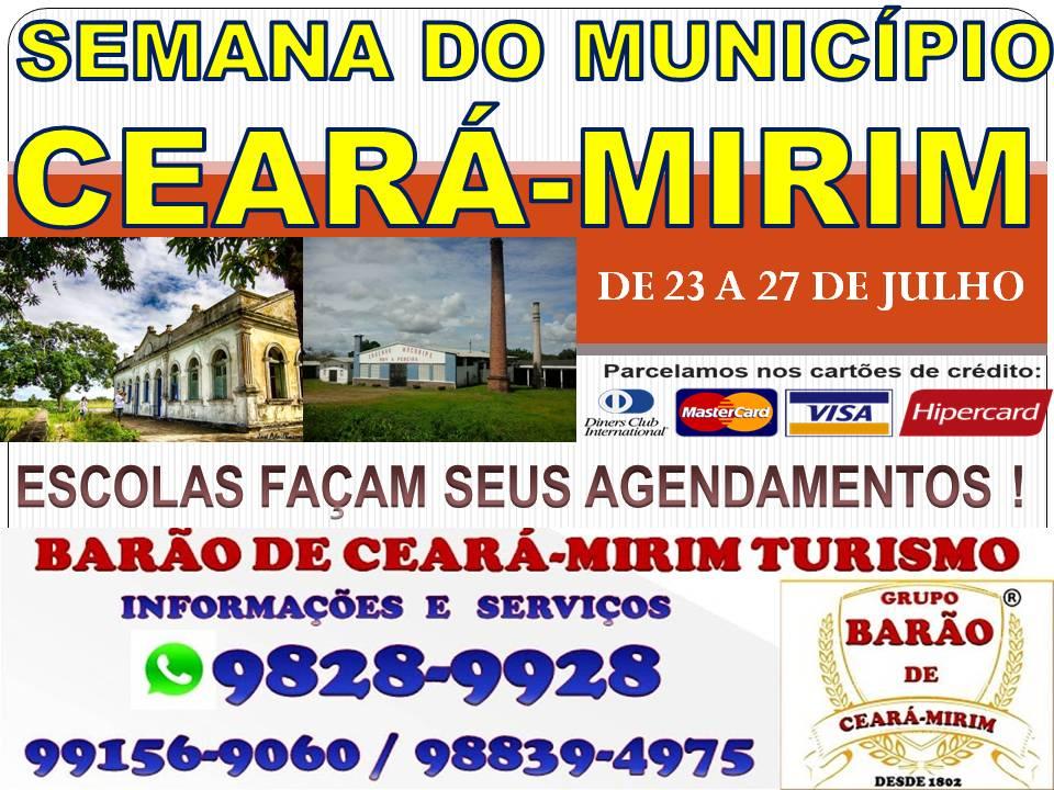 SEMANA DO MUNICÍPIO DE CEARÁ-MIRIM