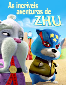 As   Incríveis   Aventuras   de   Zhu   – DVDRip AVI Dublado