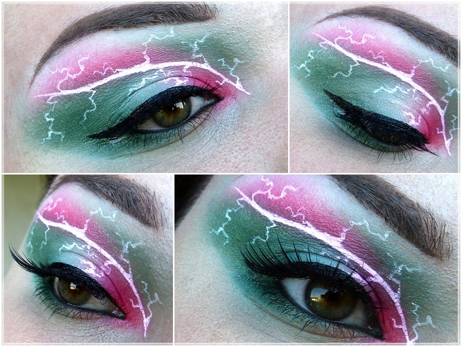 Sailor Jupiter eye make up