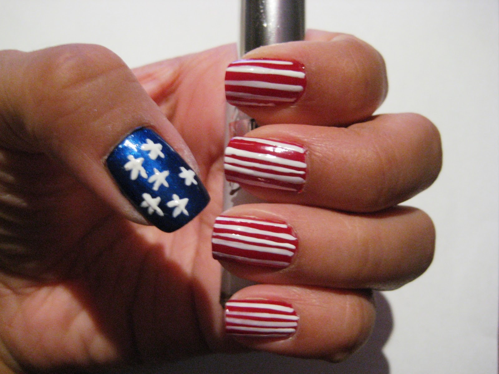 5 Finger Discount Cute Holiday Nail Art On A Budget American