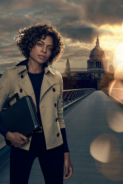 Naomie Harris is Miss Moneypenny in the Made for Bond advert