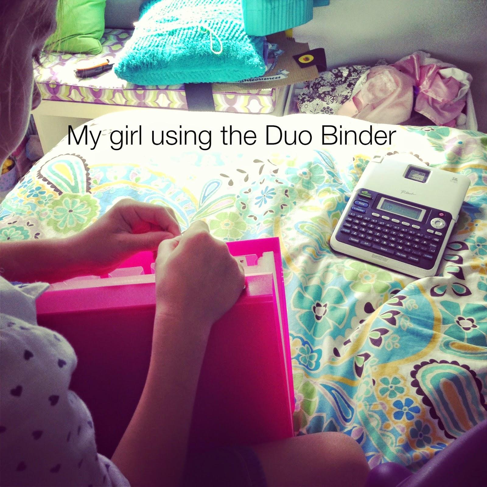 My favorite binders -- Duo Binders :: OrganizingMadeFun.com