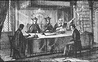 Mon voisin, cet extra-terrestre Inquisition-tribunal