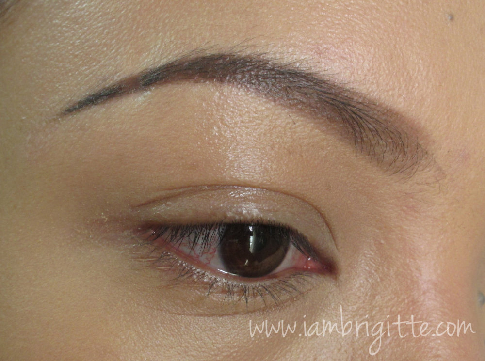 Iambrigitte Bys Brow And Eye Pencil In Brown