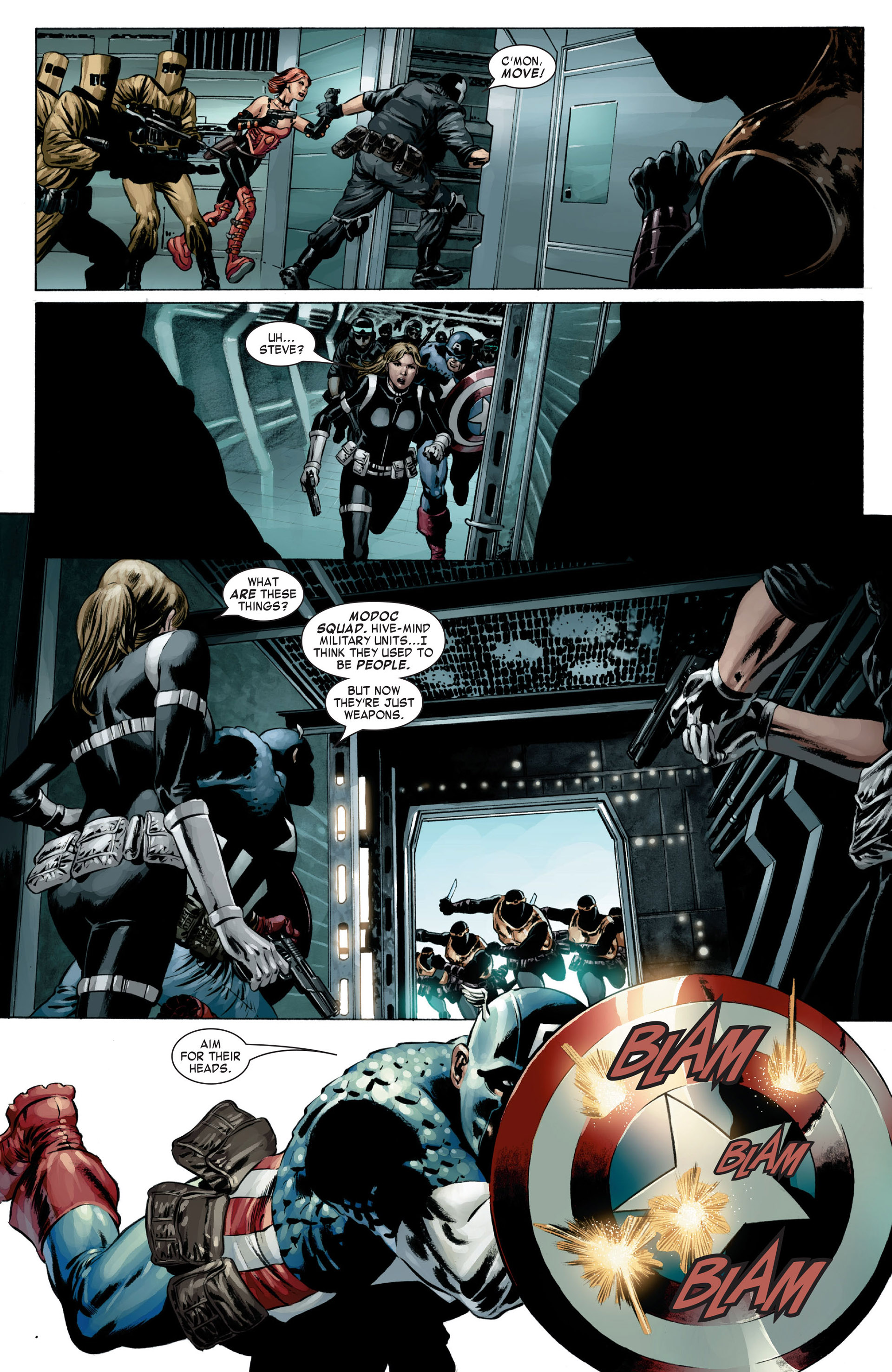 Captain America (2005) Issue #17 #17 - English 13