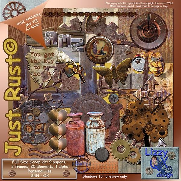 LizzyQX Design :: JustRust
