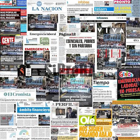 """""""EMERGENCIA EN PRENSA"""". No hay #PeriodismoEsencial sin #ParitariasPrensaYA"""