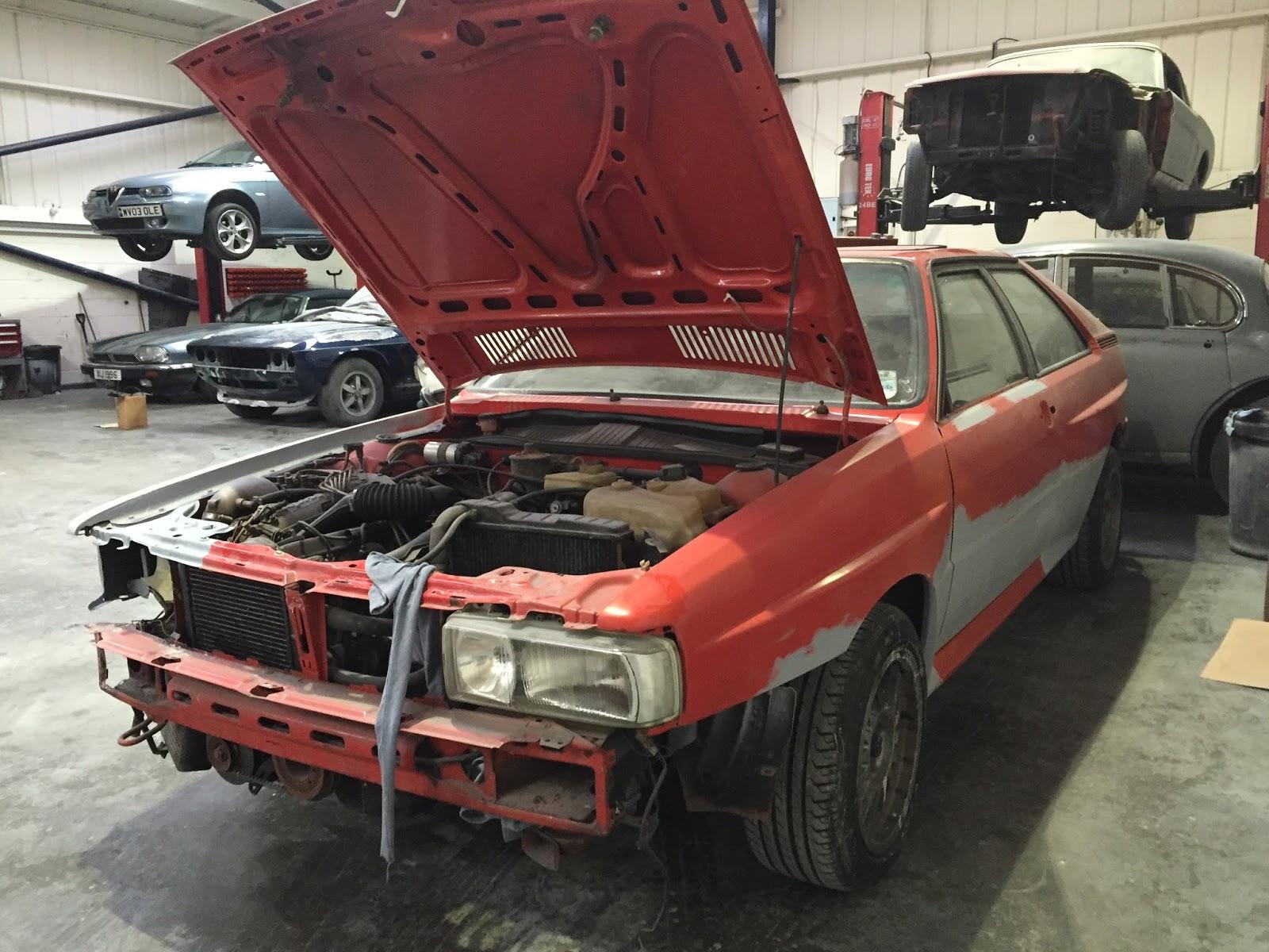 Workshop Projects: 1984 Audi Quattro ur