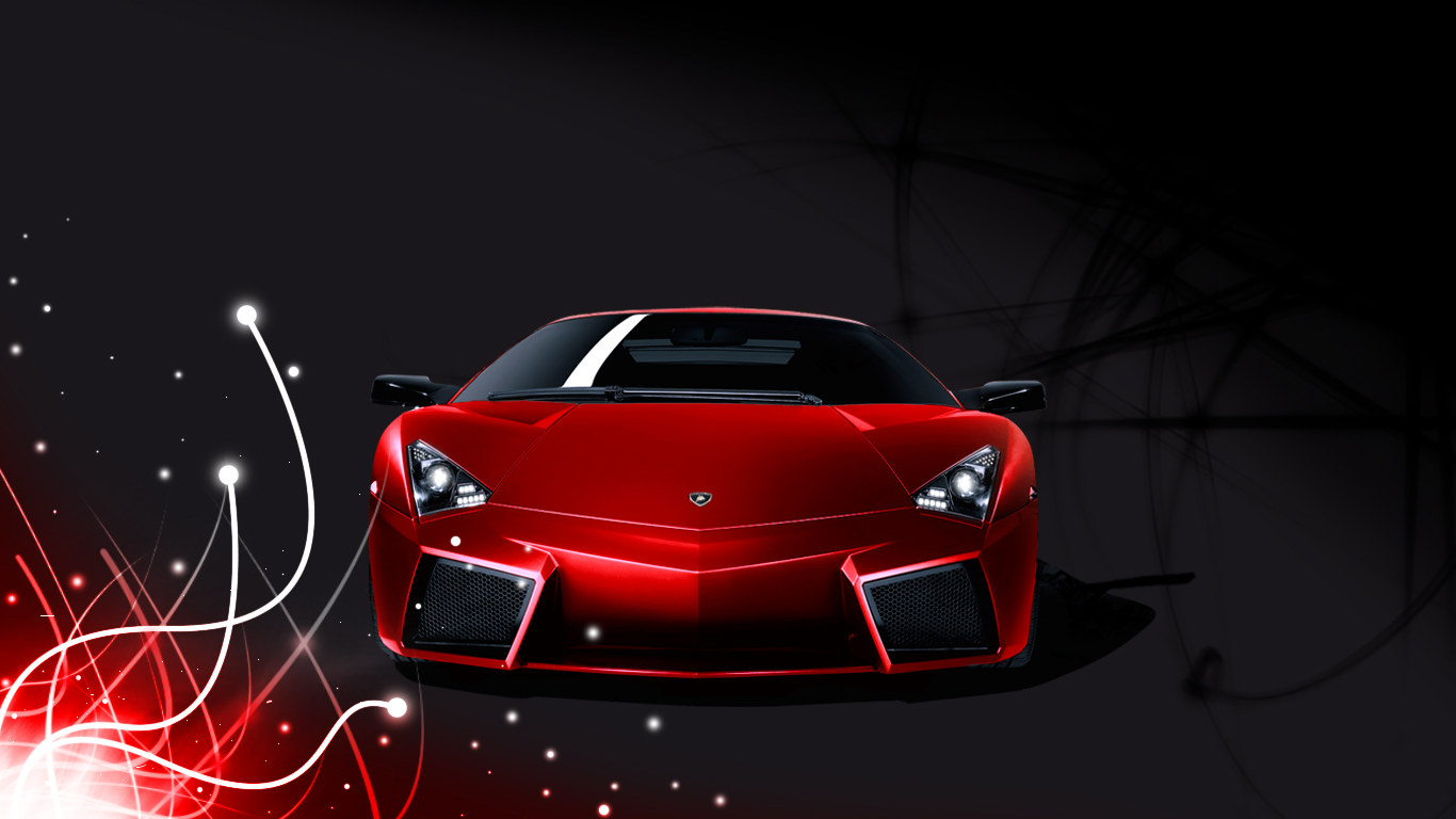 Lamborghini red hd wallpaper