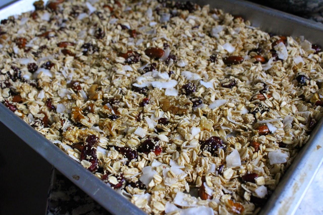 Coconut Super Grain Granola
