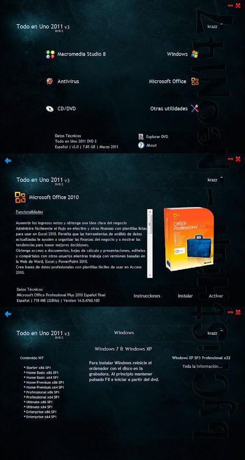 Todo en Uno  2011 v3  (Español) (2 DVD9) (2011)