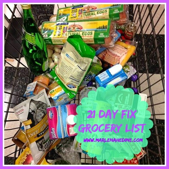 21 day fix grocery list, 21 day fix, meal plan, food list, portion control. healthy grocery list, clean eating