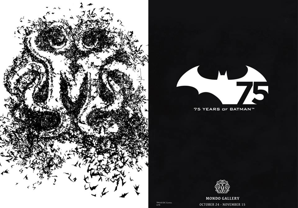 75 Years Of Batman by Mondo