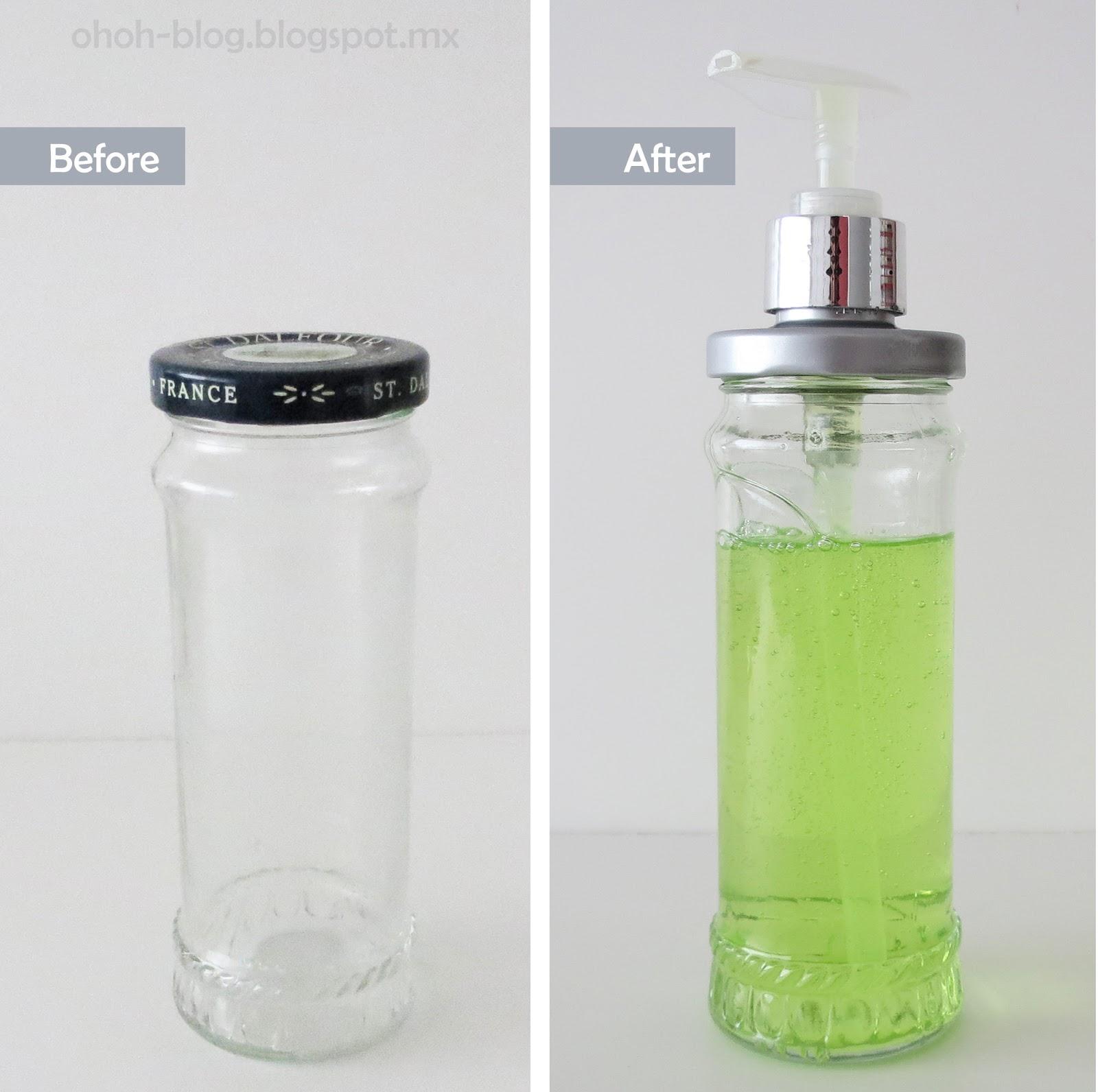 DIY soap jar
