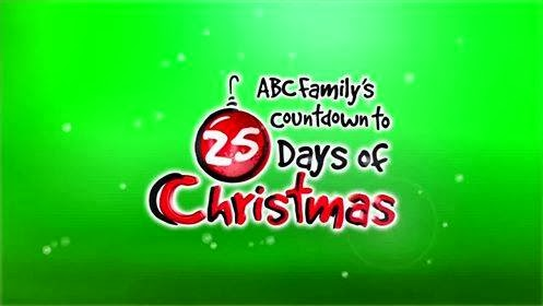 ABC Family's Countdown to the 25 days of Christmas
