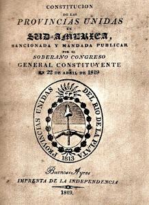 Constitución de las Provincias Unidas en Sudamérica (1819)