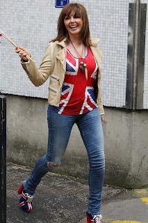 Carol Vorderman Tight Jeans