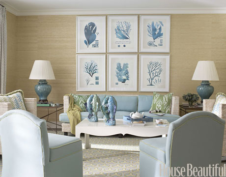 Susan winget 6 easy ways to update your home in 2012 for Coastal design ideas