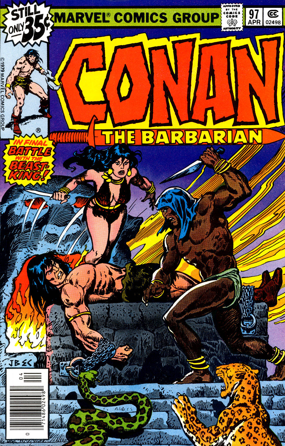 Conan the Barbarian (1970) Issue #97 #109 - English 1