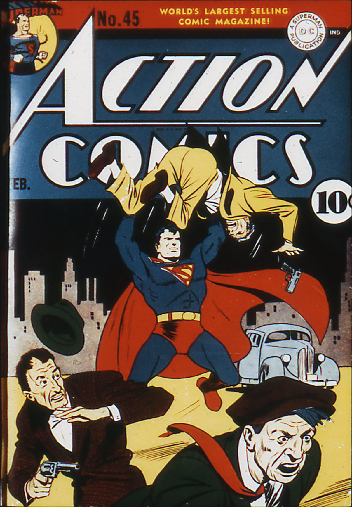 Action Comics (1938) 45 Page 1