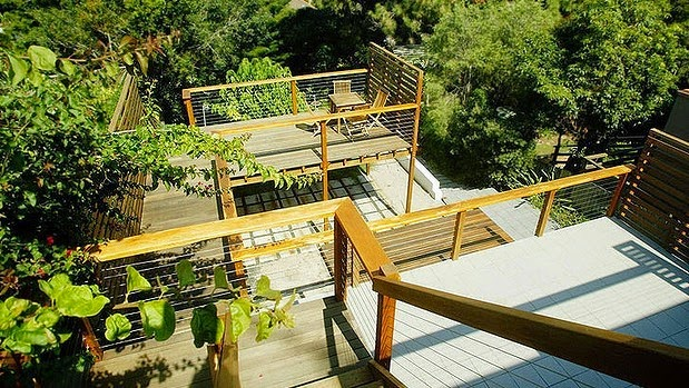 Sloped Backyard Deck Ideas
