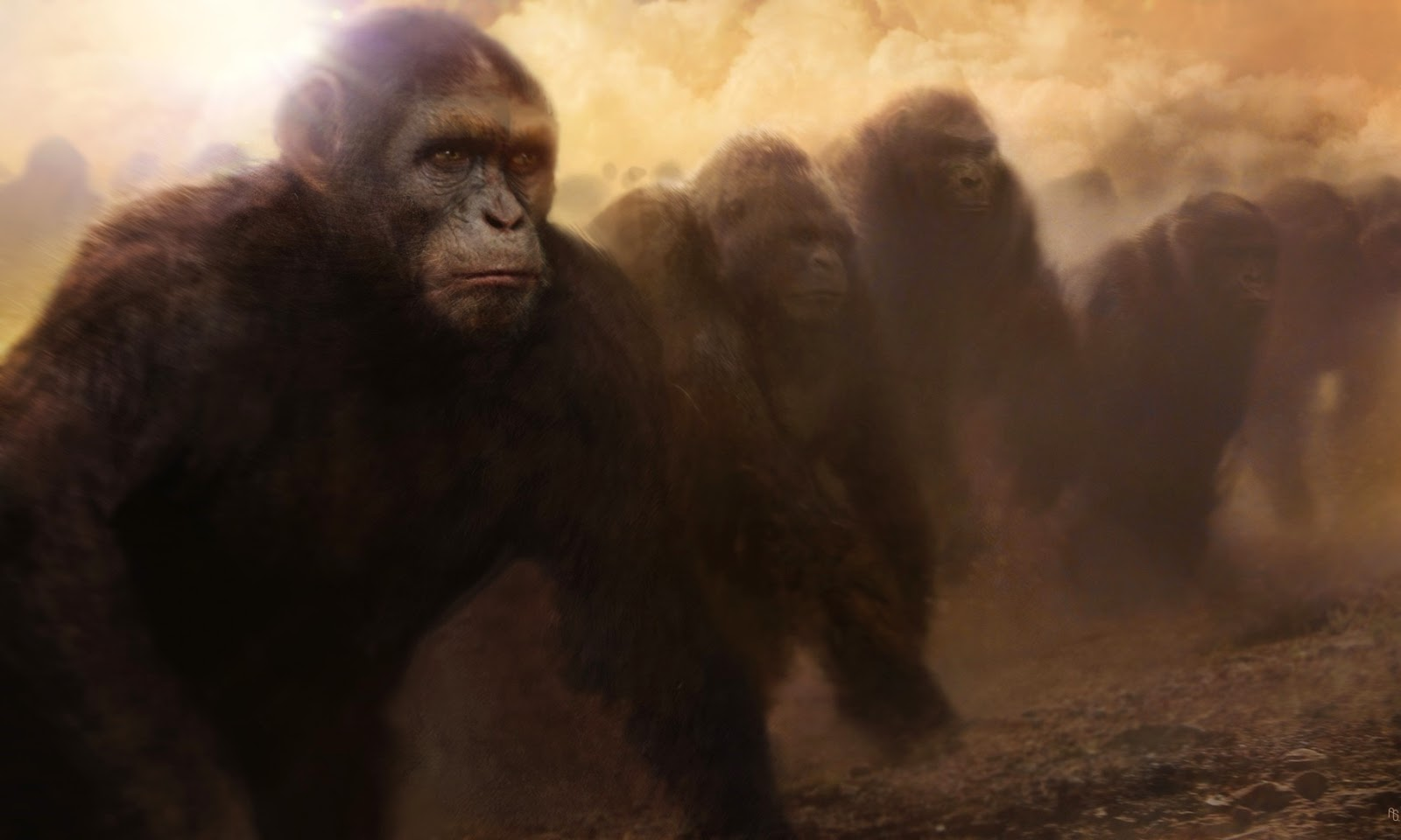 Planeta Dos Macacos o Confronto Wallpaper Planeta Dos Macacos o