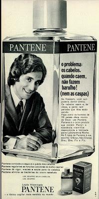 Anúncio Pantene - 1971