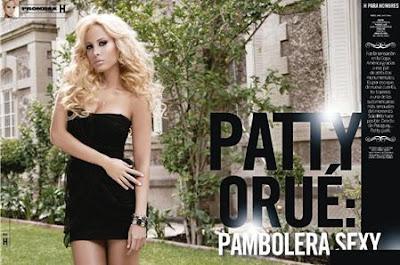 Patty Orue Revista H Para Hombres Septiembre 2011