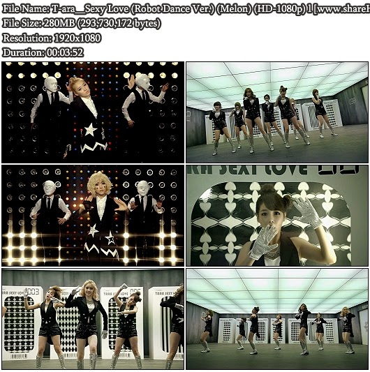 Download MV T-ara - Sexy Love (Robot Dance Version) (Melon Full HD 1080p)