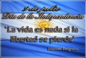 La vida es nada si la libertad se pierde!!!!