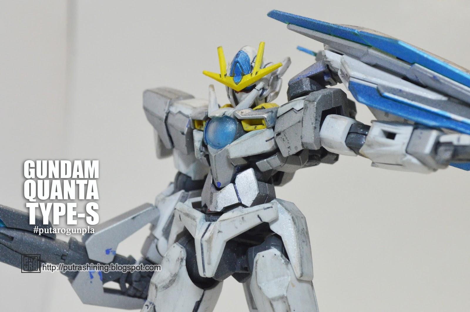 Qan Simple Mg Qant With Awesome Concept Color Ver By Bandai 1 144 Hgoo Gnt 0000 00 Qanta Hg Quanta Custom Build Putra