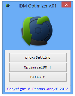 IDM Optimizer v.01