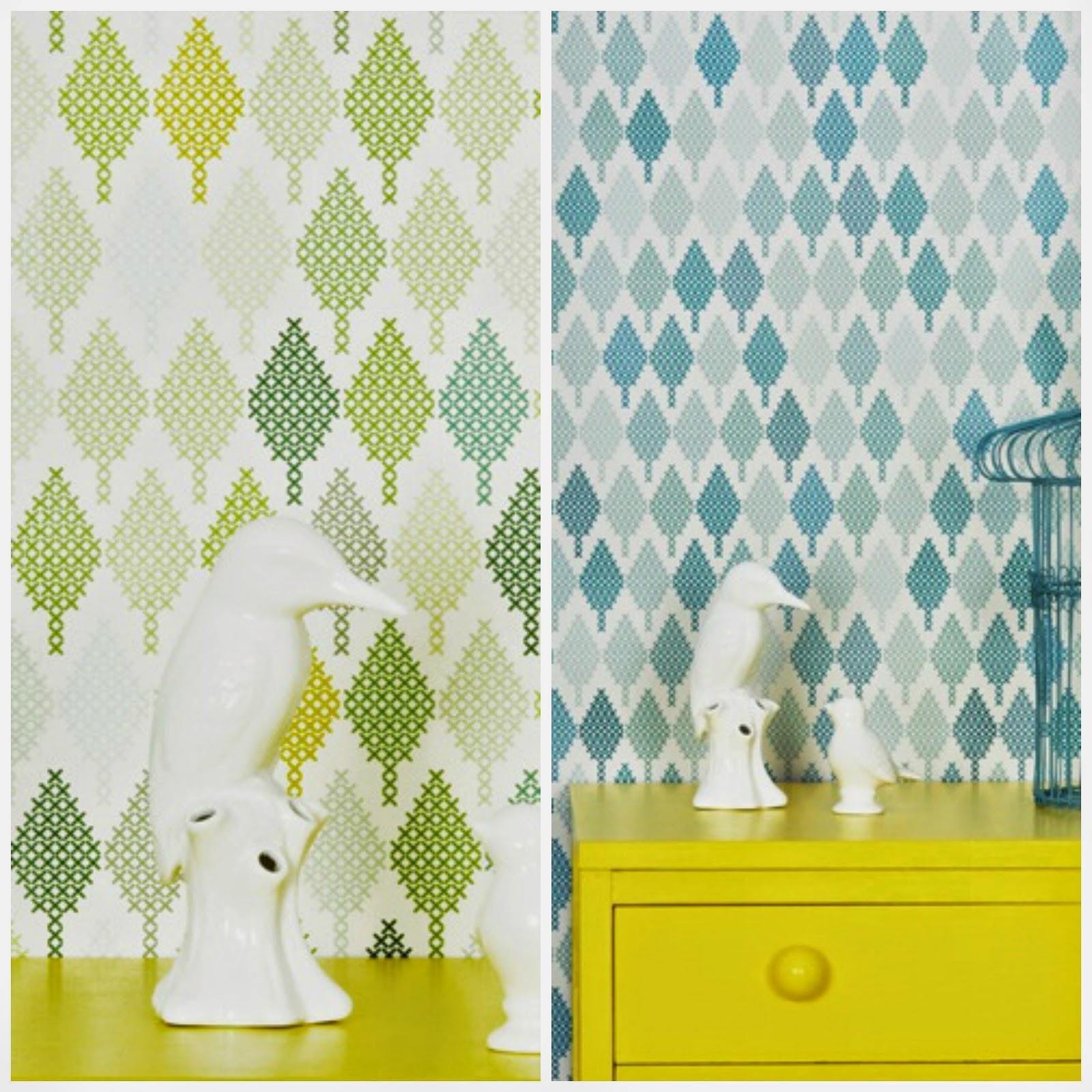 Punto de cruz cuadros decorar tu casa es for Vendo papel pintado