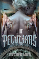 book cover of The Peculiars by Maureen Doyle McQuerry published by Amulet