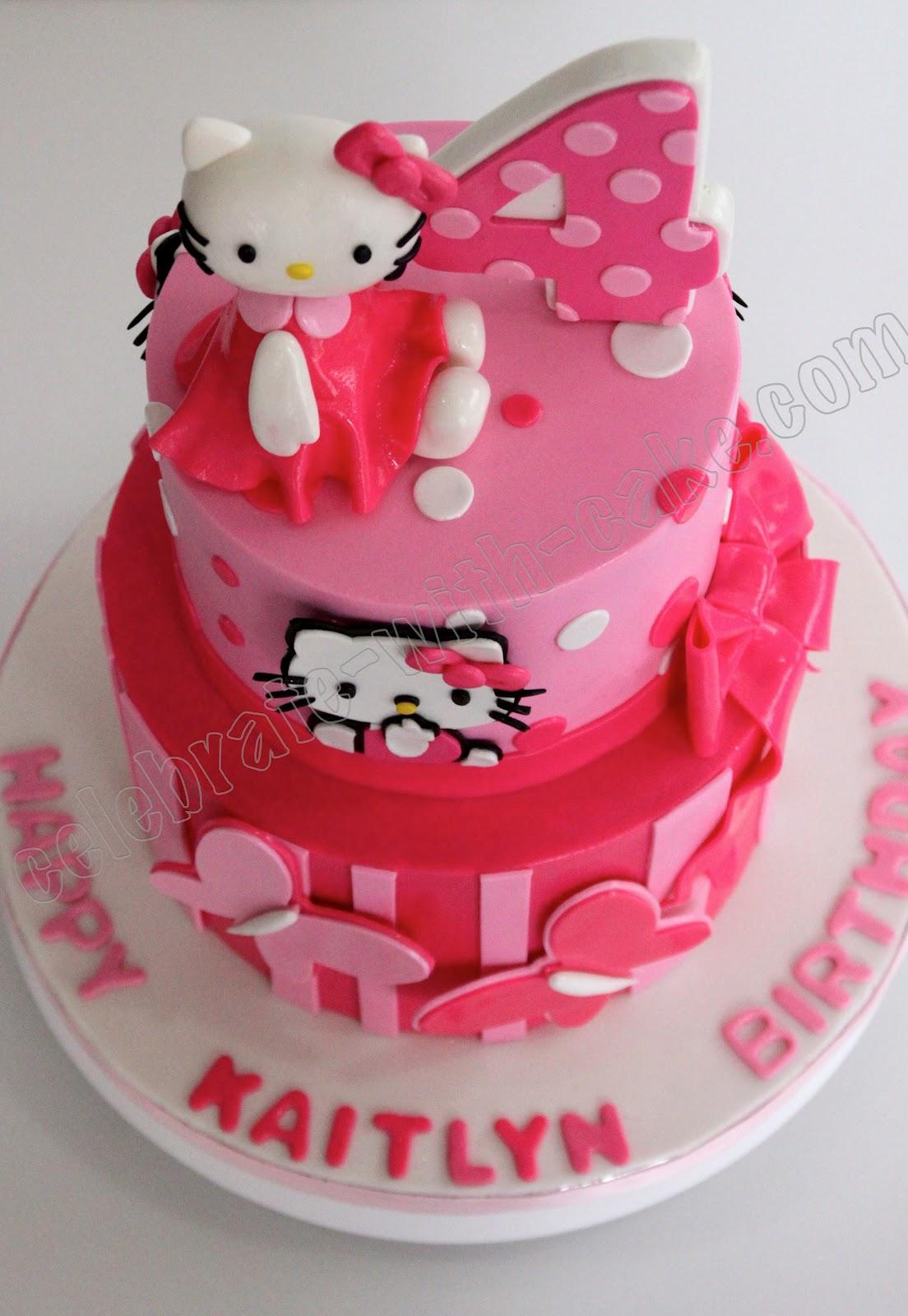 Celebrate With Cake Hello Kitty Cake